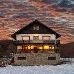 Casa Georgescu - exterior cer